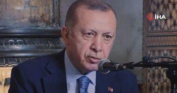 Cumhurbaşkanı Erdoğan Kur'an-ı Kerim okudu