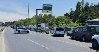 E-5'teki zincirleme kaza trafiği kilitledi