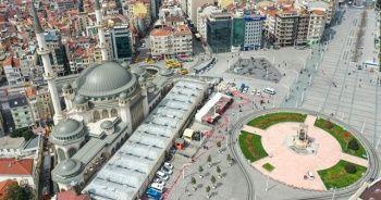 Erdoğan'dan Taksim Camii paylaşımı