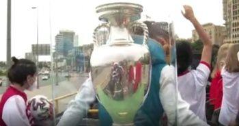 Euro 2020 kupası Bakü sokaklarında!