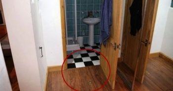 Evi kiraladığına pişman oldu! Zeminde bulduğu gizli bölmeden bakın neler çıktı?