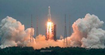 Gökten parçaları yağacak! 22 tonluk Çin roketi dünyaya düşecek