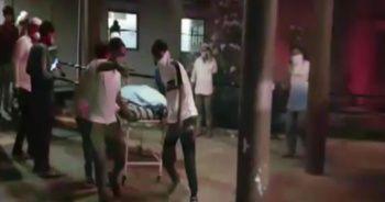 Hindistan'da hastanede yangın: 18 korona hastası öldü