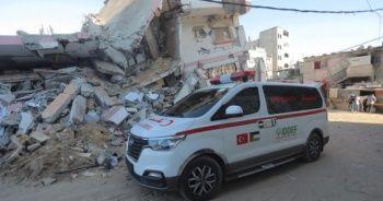 İDDEF'ten Gazze'ye ambulans desteği