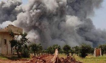 İdlib'te şiddetli patlama: 2 ölü
