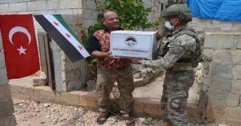 Kahraman Türk askeri yine görev başında