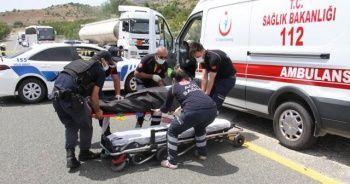 Karı kocayı trafik kazası ayırdı