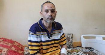 Saldırılarda eşi ve çocuğunu kaybeden baba yürek burktu