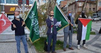 Sarıkamış'tan Filistin'e destek