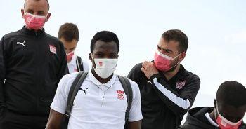 Sivasspor kafilesi Gaziantep'e ulaştı