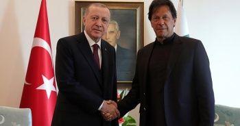 Son dakika: Cumhurbaşkanı Erdoğan, İmran Han ile görüştü