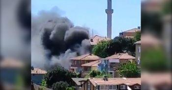 Son dakika! Maltepe'de bir evde yangın çıktı