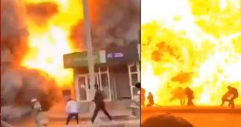 Tacikistan'da akaryakıt istasyonunda patlama: 11 yaralı