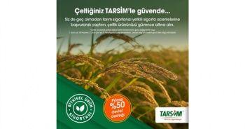 TARSİM: 'Çeltik ürününüz güvende'