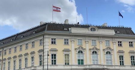 Avusturya'da İsrail bayrakları sessiz sedasız indirildi