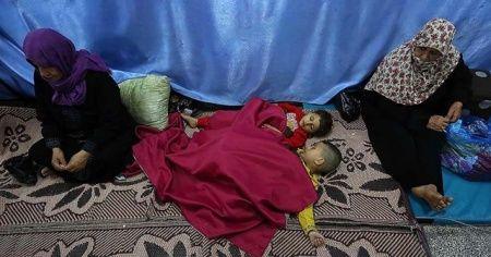 BM: 10 bine yakın Filistinli evlerini terk etmek zorunda kaldı