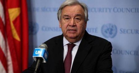Gazze bombalanırken Guterres bale izliyordu