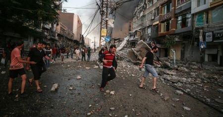 İsrail'in Gazze Şeridi'ne düzenlediği saldırılarda 9 Filistinli daha şehit oldu