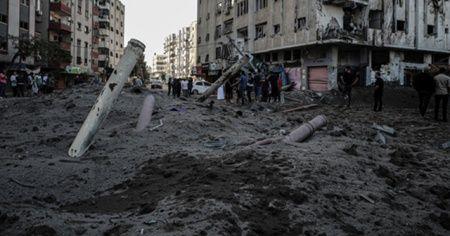 İsrail'in Gazze'ye saldırıları! Zarar 3.5 milyon dolar
