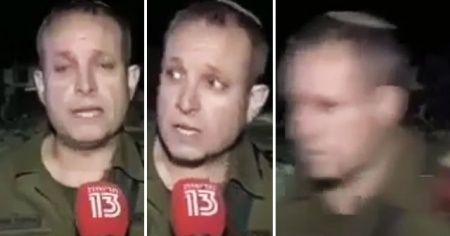 İsrailli komutan siren seslerini duyar duymaz kaçtı