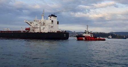 İstanbul Boğazı trafiği yeniden açıldı