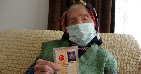 Trabzon'un en yaşlı annesi uzun yaşamanın sırrını açıkladı