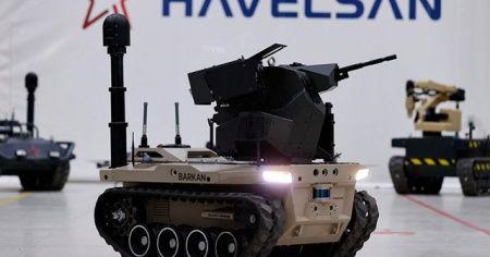 Türkiye'nin robot askeri 'Barkan'