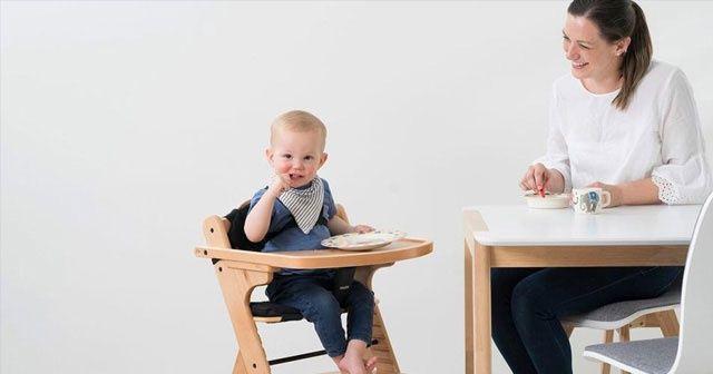 'Mama sandalyesi çocuğunuzun yeme alışkanlığını etkilemesin'