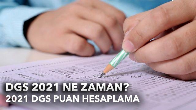 DGS puan hesaplama nasıl yapılır? 2021 DGS sınavı ne zaman?