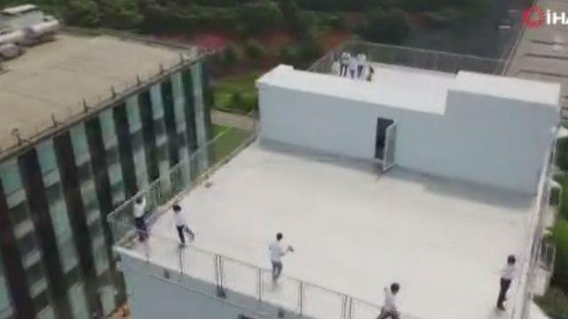 28 saatte 10 katlı bina yaptılar