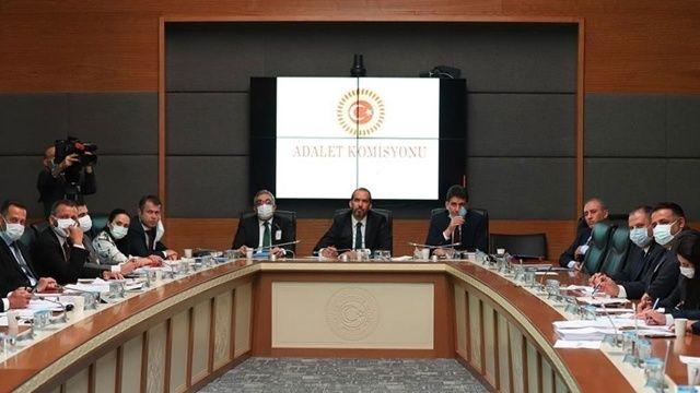 4. Yargı Paketi Komisyonda kabul edildi