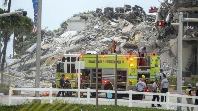 ABD'de çöken 12 katlı bina çöktü: Yaklaşık 100 kişiden haber alınamıyor