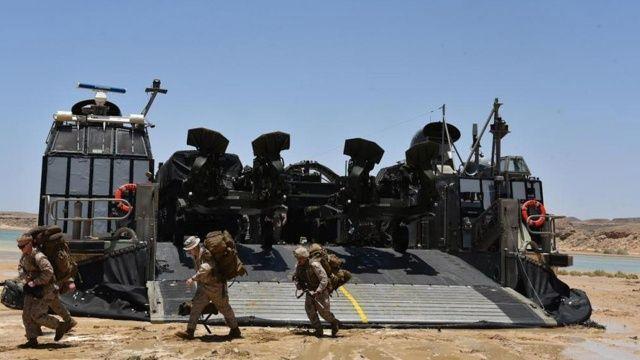 ABD ve Suudi Arabistan askerlerinden ortak tatbikat