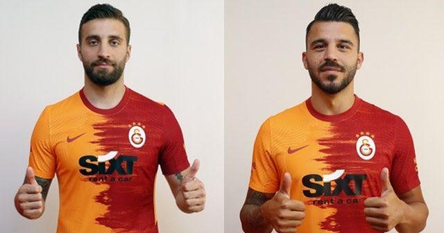 Galatasaray, yeni transferler Alpaslan Öztürk ve Aytaç Kara'ya imza attırdı