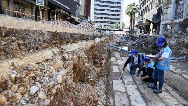 Altyapı kazısında 300 yıllık Osmanlı bedesteni çıktı