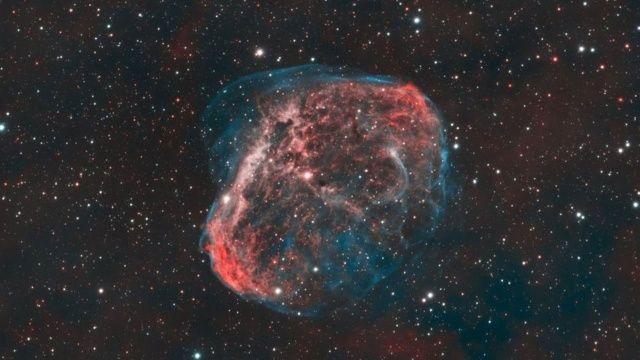 Amatör fotoğrafçı 'Kozmik balon' fotoğrafıyla NASA'dan övgü aldı