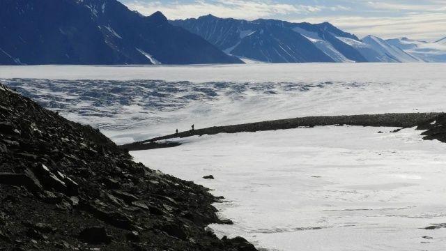 Antarktika'da hiç yaşam barındırmayan topraklar bulundu