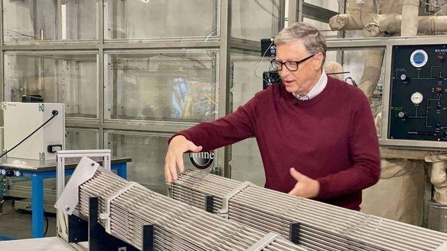Bill Gates'ten iklim krizi çözümü: Nükleer hamle!