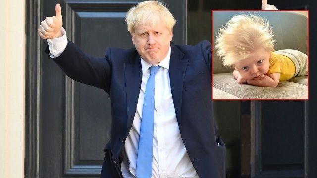 Boris Johnson'a benzeyen bebek herkesi şaşırttı