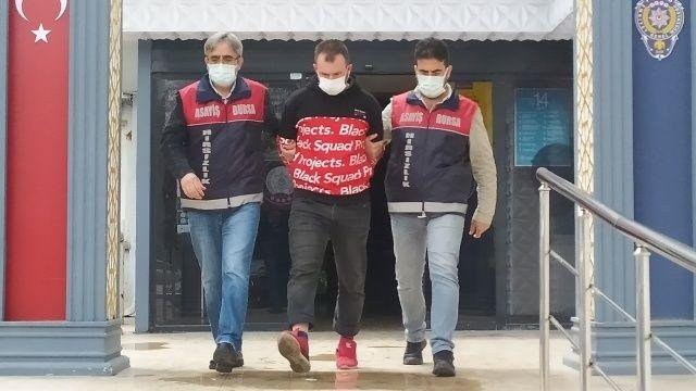 Bursa'da cezaevinden çıktı, sabah dükkan, akşam banka soydu!
