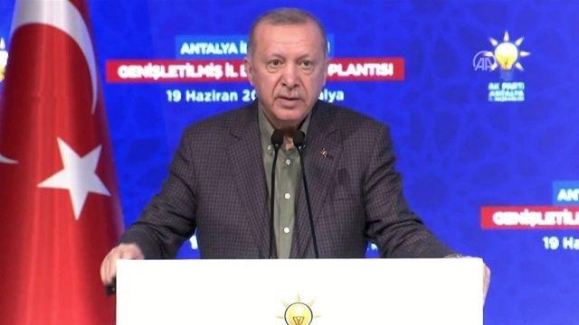 Cumhurbaşkanı Erdoğan: İzmir saldırısı amiraller bildirisi aynı