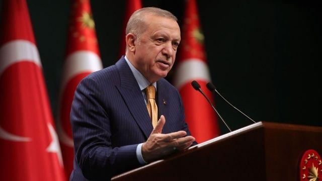 Cumhurbaşkanı Erdoğan'dan Karabağ mesajı: Yeniden inşa edeceğiz