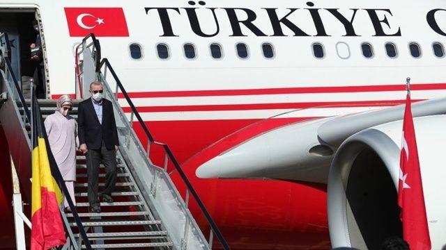 Erdoğan'dan NATO zirvesi öncesi temaslar