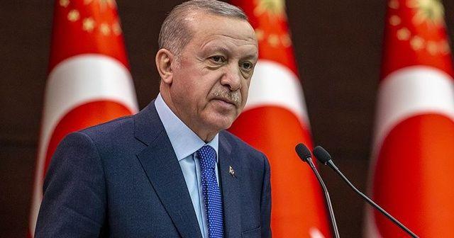 Cumhurbaşkanı Erdoğan'dan milli sporculara tebrik mesajı