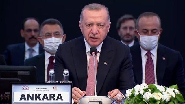 Cumhurbaşkanı Erdoğan'dan AB'ye tam üyelik çağrısı