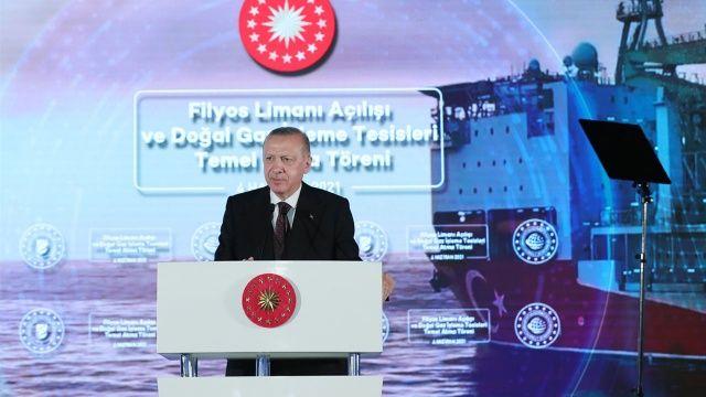 Cumhurbaşkanı Erdoğan müjdeyi açıkladı: Karadeniz'de yeni doğal gaz rezervi keşfedildi