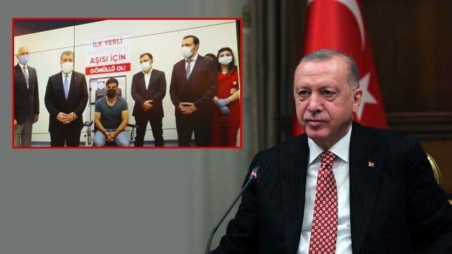 Cumhurbaşkanı Erdoğan yerli aşının adını açıkladı: TURKOVAC