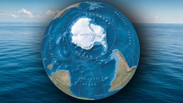 Dünya'nın 5. okyanusu Güney Okyanusu oldu