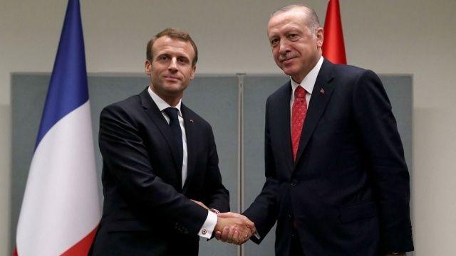 Erdoğan ile Macron NATO zirvesi öncesi görüşecek