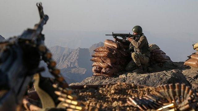 Eylem hazırlığındaki 3 PKK'lı terörist öldürüldü